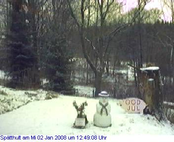 Das Schneewettenbild aus Spätthult für den 02. Januar 2008