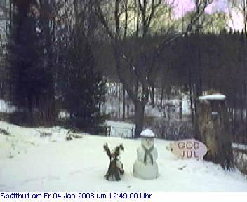 Das Schneewettenbild aus Spätthult für den 04. Januar 2008