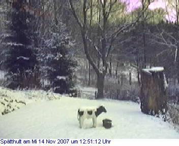 Das Schneewettenbild aus Spätthult für den 14. November 2007
