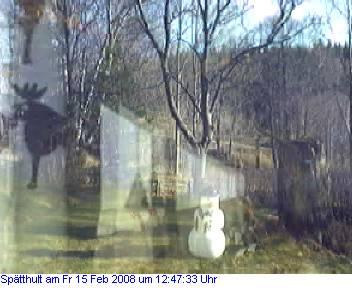 Das Schneewettenbild aus Spätthult für den 15. Februar 2008