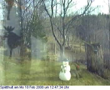 Das Schneewettenbild aus Spätthult für den 18. Februar 2008